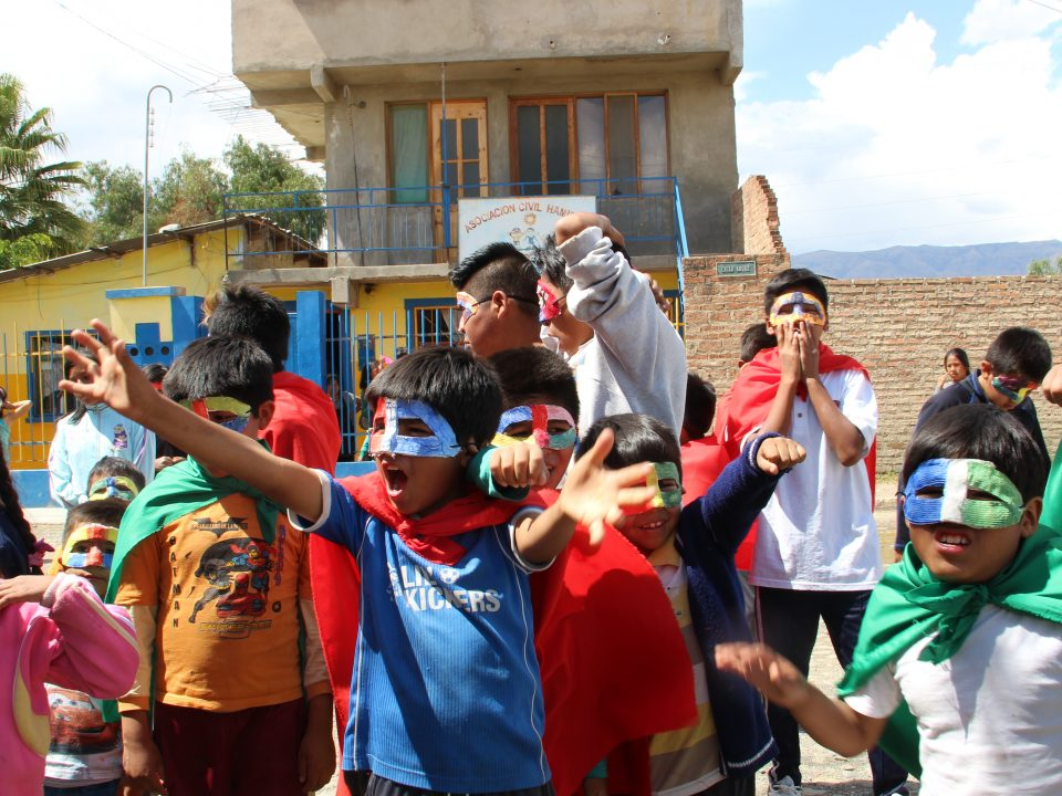 Enfants du CAICC Bolivie